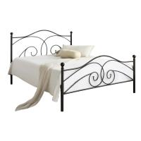 Cheap Optional Colour Sturdy Slat Metal Bed Frame , Queen Size Slatted Bed for sale