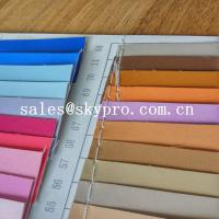 Cheap Fashion design pvc synthetic leather pu coated leather with backing fabric for sale