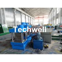 Gear Box Driving Type Purlin Roll Forming Machine For Making C / Z Channel With 1.5-3.0mm Thickness Manufactures