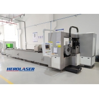 Cheap ISO9001 Hydraulic Automatic Metal Tube Laser Cutting Machine For Carbon Steel for sale