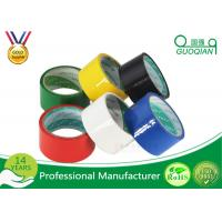 Stable mm red pvc packing tape light weight custom