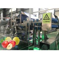 Cheap Fully Automatic Apple Juice Production Line Advanced Preliminary Array Technology for sale