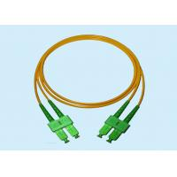 Stability Single Mode Fiber Optic Connectors Duplex Sc/Apc Sc/Apc