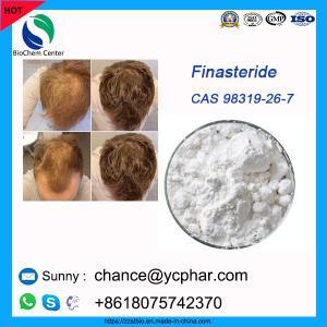 Cheap High Purity 99% Anti-Hairloss Pharm Grade Finasteride Powder CAS 98319-26-7 for sale