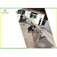 Quality Intelligent Hydraulic Automatic Rising Bollards 304 Staineless Steel With Led wholesale