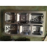 Cheap Six Compartments Food Aluminum Foil Container Mould High For Container Punching for sale