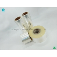 Cheap BOPP Film Roll For Tobacco Packaing Strong Tensile No Bubble Wrinkle 5% Shrinkage Rate for sale