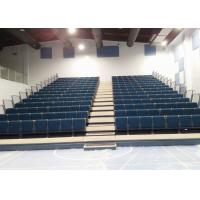 Conference Center Tiered Seating Systems / Semi Automatic Foldable Bleacher Seats