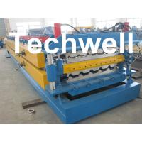 High Grade 45# Axis Double Layer Roll Former / Roll Forming Machine For Roofing Sheets