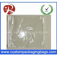 Buy cheap Slider Zipper Plastic Clear PVC Hook Bag for Clothing / Underwear Packing from wholesalers