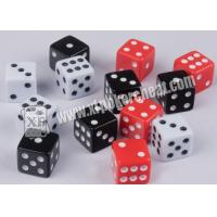 Buy cheap White And Black Magic Dice Set Magic Remote Control Dice For Dice Gamle from wholesalers