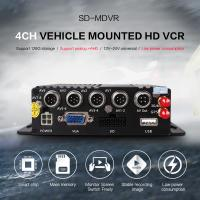 Cheap PAL / NTSC 8 Channel Mobile DVR 128GB Storage 3G 4G GPS Tracker Car MDVR for sale