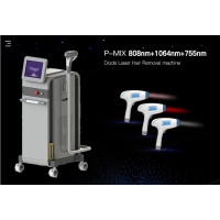 Cheap Permanent 808nm Diode Laser Hair Removal Machine TUV MED CE Approved for sale