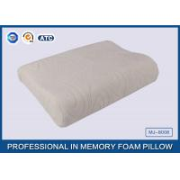 Cheap Comfort Waved shapded Memory Foam Contoured Pillow , Classic Memory Foam Pillow for sale