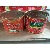 Cheap Canned Conserve Hala Food/Tomato Paste brix 28%-30% canned tomato paste 1000g manufacture for sale
