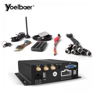 Cheap Transportation Trucks Multi Channel Car DVR 4CH AHD 1080P Wireless Download for sale
