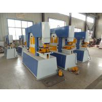 Cheap Automatic Hydraulic Ironworker Machine For Forming / Framing , 160 Ton for sale