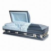 Cheap US Style Oversize 18Ga Steel Casket, 18H8002 for sale