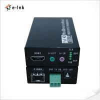 Buy cheap 1 Channel Fiber Optic Ethernet Extender Bidirectional Audio RS232 3 Pin Terminal from wholesalers
