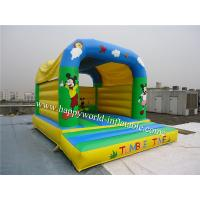 Cheap mickey mouse jumping castle , cheap inflatable bouncer , bouncy castle paint for sale