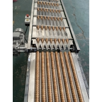 Cheap 380V 16kg/H 135mm Ice Cream Cone Production Line for sale
