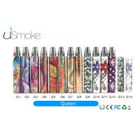 Cheap Durable 900mah E Cig Batteries Clearomizer Ego Queen Battery RoHS Approved for sale