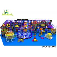 Cheap Pre - School Play And Party Indoor Playground , Indoor Bouncing Playgrounds for sale