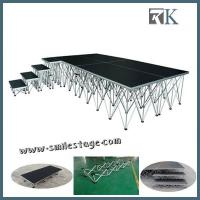 Cheap Aluminum Portable Stage with Waterproof Movable Stage Platform for sale