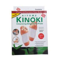 Cheap 10pcs Kinoki Detox Foot Pads Patch Detoxify Toxins Adhesive Help Sleep Keep Fit herbal china foot patch factory supply for sale