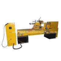 CNC Wood Turning Broaching Engraving Machine with Single Axis Double Blades