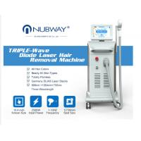 Cheap Nubway professional best painless high technology 808 soprano diode laser hair removal beauty Machine with big spot for sale