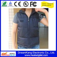 Cheap Heated vest makes you warm in outdoor of winter for sale