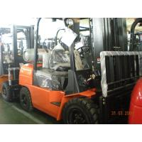 China Gas / LPG Forklift Truck Hangcha , Narrow Aisle Load Forklift With 2 Stage Mast on sale