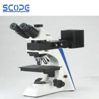 Cheap 100X Dry Objective Trinocular Metallurgical Microscope Upright Transmitting Reflecting for sale