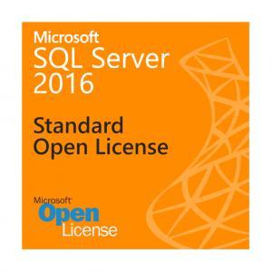 Cheap 1 Admin User SQL Server 2016 Standard License , Analytics SQL Server 2016 Open License for sale