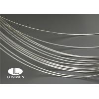 Agcu Thick Silver Plated Copper Wire Low Contact Resistance For Rivet Contacts