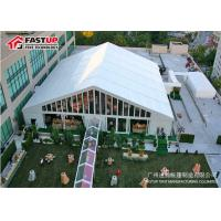 Exterior Luxurious Party Wedding Tent , Large Wedding Tent No Pole Inside
