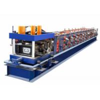 Cheap High Efficiency CZ Purlin Roll Forming Machine PLC Control System With Servo Motor for sale
