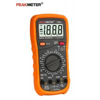 Cheap AC/DC Voltage Current Tester Digital Multi Tester 2000 Counts With Data Hold for sale