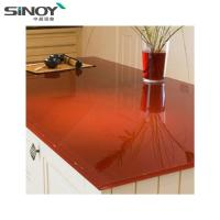 Cheap Interior Deco beautiful Lacquered Painted Glass With Paint for sale