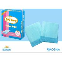 Cheap Sanitary Disposable Bed Pads Water Resistant For Hospital , Non - Stimulated for sale