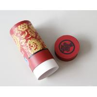 Cheap Environmental Red Gift / Craft Paper Tube packaging Box with ISO SGS FDA QS for sale