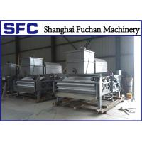 Cheap High Concentration Sludge Belt Press Machine Rotary Drum Stainless Steel 304 for sale