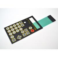 PET Material Embossed Tactile Metal Dome Membrane Switch Anti - Corrosion