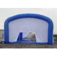 Cheap White Inflatable Event Tent Inflatable House Tent For Show / Camping for sale