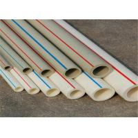 Cheap FIBER COMPOSITE Fusion Ppr Pipes White Color PN25 Work Pressure Furring Resistance for sale