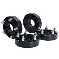 Buy cheap 78.3mm Center Bore 5x5 To 5x5 Wheel Spacers Cnc Wheel Spacers Black Color from wholesalers