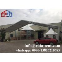 Buy cheap Round Desk Marquee Event Tent , Transparent Sidewall Large Event Tents from wholesalers