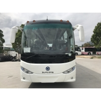 Cheap New Shenlong Coach Bus SLK6102CNG 35 Seats Right Hand Drive New Tourism Bus With Diesel Engine for sale
