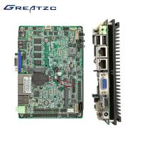 China 3.5 Inch Mini Fanless Intel Ivy Bridge Motherboard With Integrated HD Graphics Card on sale